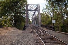 Ponte della ferrovia immagini stock libere da diritti
