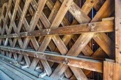 Ponte della ferrovia di Contoocook fotografie stock libere da diritti