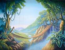 Ponte della giungla illustrazione vettoriale