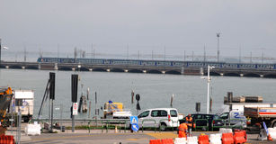 Ponte Della Liberta Royalty-vrije Stock Afbeeldingen
