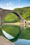 Ponte Della Maddalena, Italien Arkivbilder