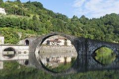 Ponte della Maddalena (Lucca, Tuscany) Royalty Free Stock Images