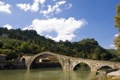 Ponte della Maddalena,Tuscany, Italy. View at the Ponte della Maddalena,Tuscany, Italy Stock Photography