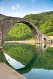 Ponte Della Maddalena, Włochy Obrazy Stock