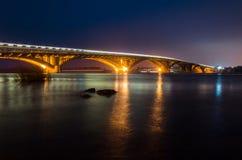 Ponte della metropolitana Fotografia Stock Libera da Diritti