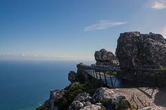 Ponte della montagna della Tabella Fotografia Stock Libera da Diritti