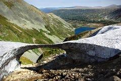 Ponte della neve fotografie stock