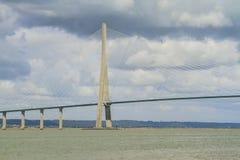 Ponte della Normandia Fotografie Stock Libere da Diritti