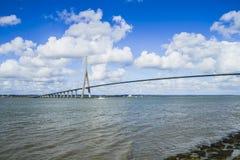 Ponte della Normandia Fotografia Stock