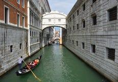 Ponte della Pagiia, and Bridge of Sighs Royalty Free Stock Image
