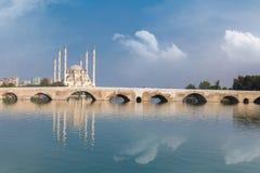 Ponte della pietra dell'Adana Immagine Stock