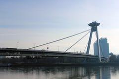 Ponte della ribellione nazionale slovacca Immagini Stock Libere da Diritti