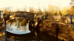 Ponte della roccia Fotografie Stock
