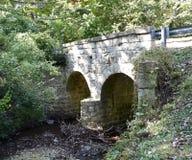 Ponte della strada del cimitero Fotografia Stock Libera da Diritti