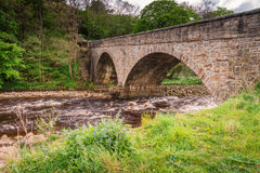 Ponte della strada di Gunnerside fotografie stock