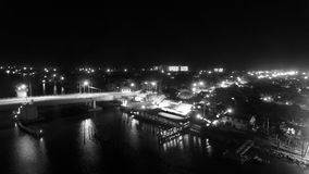 Ponte della strada soprelevata Fotografie Stock
