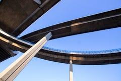 Ponte della superstrada di complessità immagine stock libera da diritti