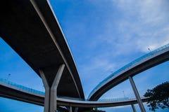 Ponte della superstrada di complessità immagine stock