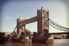 Ponte della torre Immagine Stock