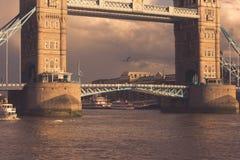 Ponte della torre, Fotografie Stock