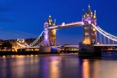 Ponte della torre di Londra Fotografie Stock