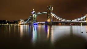 Ponte della torre, Londra Immagini Stock