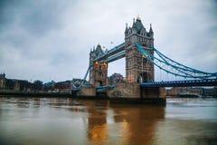 Ponte della torre a Londra, Gran Bretagna Immagine Stock Libera da Diritti
