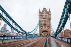 Ponte della torre a Londra, Gran Bretagna Fotografie Stock