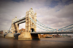 Ponte della torre, Londra, Regno Unito. Fotografia Stock Libera da Diritti