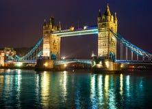 Ponte della torre, Londra, Regno Unito Fotografie Stock Libere da Diritti