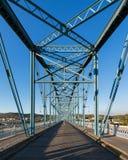 Ponte della via della noce Immagini Stock