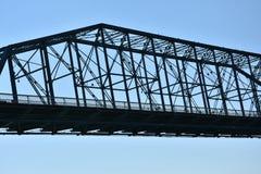 Ponte della via della noce a Chattanooga, Tennessee Fotografie Stock Libere da Diritti