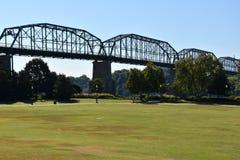Ponte della via della noce a Chattanooga, Tennessee Immagine Stock Libera da Diritti