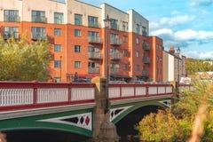 Ponte della via della palla, Sheffield fotografie stock libere da diritti