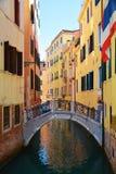Ponte delle Colonne,威尼斯,意大利,欧洲 库存图片