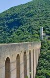 Ponte delle Due Torri. Spoleto. Umbria. Italy. Stock Image