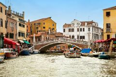Free Ponte Delle Guglie In Summer Day Royalty Free Stock Photo - 179639245