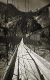 Ponte deteriorada (v) Foto de Stock