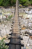Ponte di Annapurna Fotografia Stock Libera da Diritti