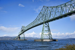 Ponte di Astoria Megler, Oregon Fotografia Stock