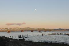 Ponte di Astoria, Oregon Fotografie Stock