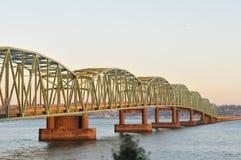 Ponte di Astoria, Oregon Immagini Stock