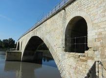 Ponte di Avignone Immagini Stock Libere da Diritti