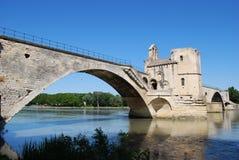 Ponte di Avignone, Francia Immagini Stock Libere da Diritti