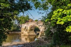 Ponte di Aylesford in Risonanza, Inghilterra Fotografie Stock