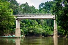 Ponte di Baleh Fotografie Stock Libere da Diritti