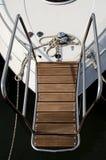 Ponte di barca Immagine Stock