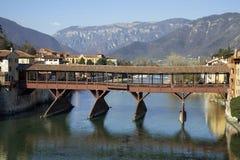 Ponte di Bassano Fotografie Stock Libere da Diritti