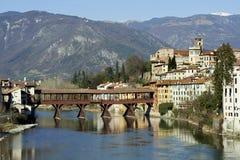 Ponte di Bassano Immagine Stock