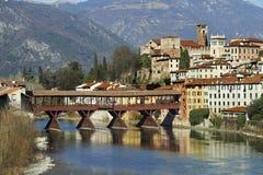 Ponte di Bassano Fotografia Stock